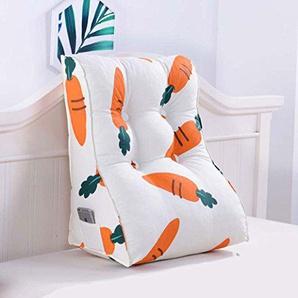 GGCG Sofa Kissen, Kissen einfarbig abnehmbare Dreieck zurück Schlafzimmer Doppel Taillenkissen Keil Kissen 10 Arten optional (Farbe : 10, größe : 55 * 60cm)