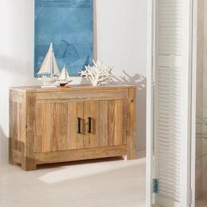 Home Affaire Sideboard »Larengo«, beige, pflegeleichte Oberfläche, FSC®-zertifiziert