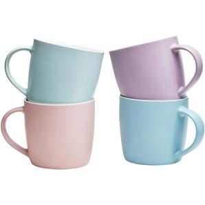 for friends Kaffeebecher 4er-Set  Pastell ¦ mehrfarbig ¦ Porzellan ¦ Maße (cm): H: 8,5 Ø: [9.0] Geschirr  Becher » Höffner