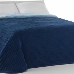 Vialman Home Tagesdecke »Liso«, 280x240 cm, blau