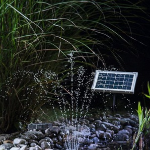 ESOTEC Solarteichpumpe »Rimini LED«, 160 l/h, mit Akku und Beleuchtung