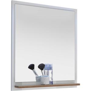 Xora: Spiegel, Eiche, Weiß, B/H/T 60,0 74,5 15,5