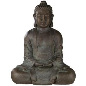 Buddha ¦ grau ¦ Magnesia ¦ Maße (cm): B: 62 H: 78 T: 36 Dekoration  Gartendekoration » Höffner