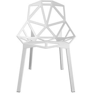 Stapelstuhl Chair_One Magis weiß, Designer Konstantin Grcic, 82x55x59 cm