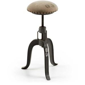 Sitzhocker im Industry Style höhenverstellbar