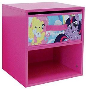 Unbekannt Fun House 712522My Little Pony Nachttisch mit Schublade für Kinder MDF 33x 30x 36cm
