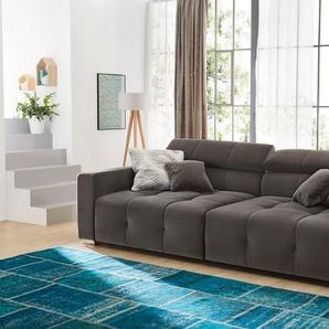 Big Sofa, Grau, Stoff