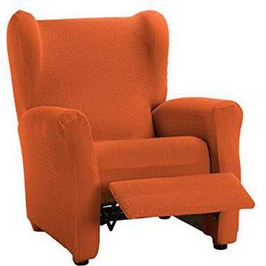 Martina Home Schutzhülle aus elastischem Sessel Modell Tunez Bezug für Relax-Sessel 32x42x8 cm orange