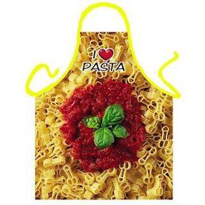 ITATI Original Schürze Ich liebe Pasta 56 x 73 cm 100 % Polyester