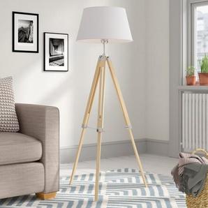 143 cm Tripod-Stehlampe Martin
