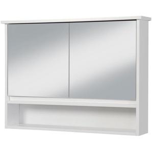Spiegelschrank »Luzern«, 2 Türen und 3 Ablagen