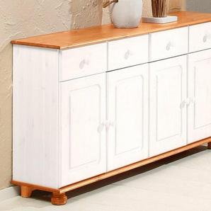 Home affaire Sideboard »Mette«, Breite 156 cm, silber