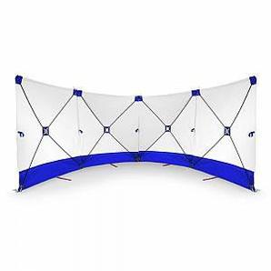 Trotec VarioScreen-Sichtschutzwand 4*180*180 Blau