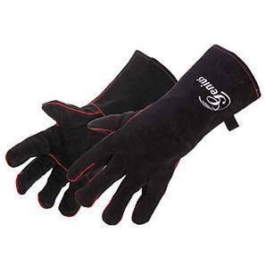 Genius BBQ Grill-Handschuhe | Leder | schwarz | NEU