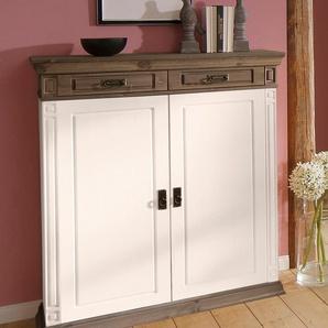 Home affaire Wäscheschrank Breite 111 cm, weiß, Landhaus-Stil, »Vinales«, , , FSC®-zertifiziert