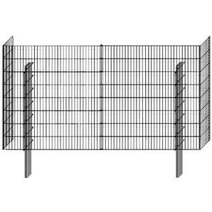 BELLISSA Mauersystem »Gabionenzaun Limes«, Basisbausatz, LxT: 230x23 cm, versch. Höhen