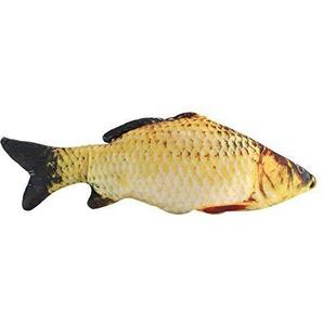 Simulation Karpfen Fisch Form Plüschtiere Gefüllte Gesalzenen Fisch Dekokissen Geschenk Spielzeug Wohnkultur(40CM)