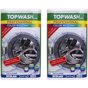 2x Topwash Professional Color Waschmittel 12,5 kg
