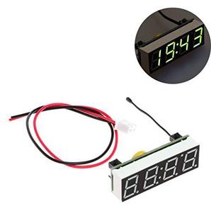 sunhoyu 5-30VDIY Uhr Temperatur Spannungsmodul - grün für Home