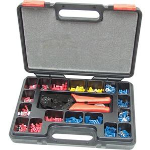 Kennedy Crimp-Set 552-teilig 220 mm Crimpzange und Aderendhülsen Stahl Presszange