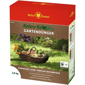 WOLF GARTEN Universaldünger »Natura Bio«, in 3 Verpackungsgrößen