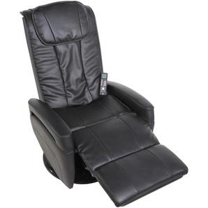 Massage-Sessel, schwarz