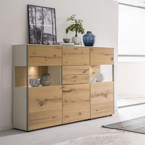 Venjakob Highboard, Eiche, Holz