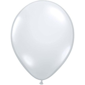 Pioneer Balloon Company Latex-Ballon, 100 Stück 11 farblos