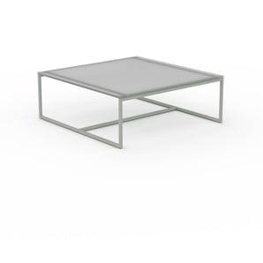Beistelltisch Kristallglas satiniert - Eleganter Nachttisch: Hochwertige Materialien, einzigartiges Design - 81 x 31 x 81 cm, Komplett anpassbar