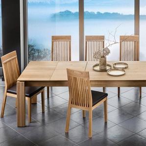 Premium collection by Home affaire Essgruppe »0«, bestehend aus dem Tisch »Dundee« und den Stühlen »Gisela« (5 oder 7 tlg)
