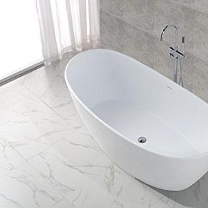 Freistehende Badewanne Kunststein KKR-B034 (matt)