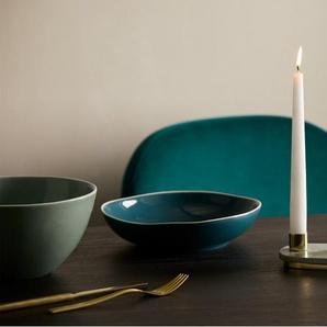 Tyla Kerzenhalter, Marmor und Messing