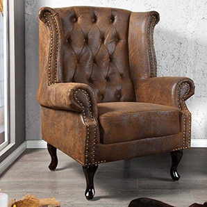 chesterfield sessel von amazon preise qualit t vergleichen m bel 24. Black Bedroom Furniture Sets. Home Design Ideas