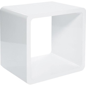 Lounge Cube MDF weiß