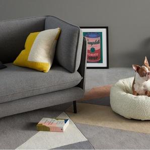 Kysler rundes Haustierbett gross, Kunstfell
