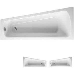 Mauersberger Raumspar-Badewanne Ascea, 175 cm