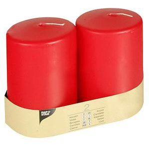 2 PAPSTAR Kerzen rot
