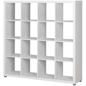 Raumteiler 4x4  Caro ¦ holzfarben ¦ Maße (cm): B: 150 H: 150 T: 35 Regale  Raumteiler » Höffner