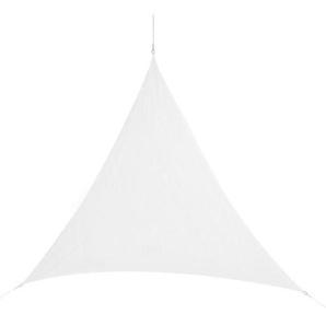 Corasol COR10TR5-WH Premium Sonnensegel 5 x 5 x 5 m, dreieckig, weiß