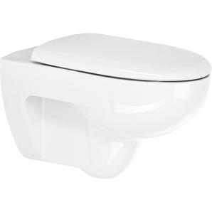 Keramag Wand-WC Set Renova Nr. 1 spülrandlos weiß