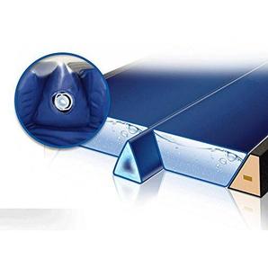 Gelkeil Trennkeil Modell 2018 für Wasserbetten/Thermo Gel-Keil Trennwand Trennung Isolierung (für 220 cm Länge (Real 208 cm))