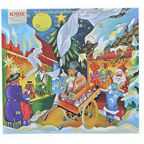 Knox Räucherkerzen-Adventskalender mit 24 himmlischen Düften (Weihnachtsmarkt)