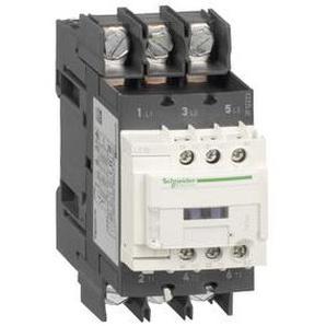 SCHNEIDER ELECTRIC Leistungsschütz LC1D 3p, +1S+1Ö, 22 kW, 50 A, 400 V AC3, Spule 220 V DC