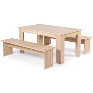 Tischgruppe München Sonoma Eiche Nachbildung ca. 140 cm