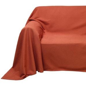 PEREIRA DA CUNHA Sofaüberwurf mit Hoch-/Tiefstruktur