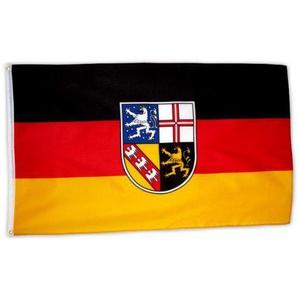 MM Saarland Flagge/Fahne, 150 x 90 cm, wetterfest, mehrfarbig, 16200