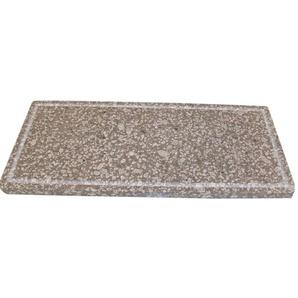 Sunday Pizzaplatte Speckstein mit umlaufender Nut 20,5 x 48,5 cm