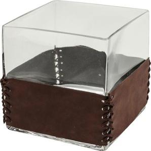 Vase String transparent Square 15cm