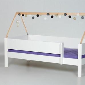 Kinderbett 90x160 cm, weiß deckend, weitere Farben & Größen bei BETTEN.de