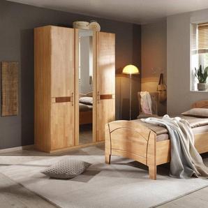 Home affaire Schlafzimmer-Set »Sarah«, (Set, 4-tlg), mit Bett 100/200 cm und 2-oder 3-trg Schrank